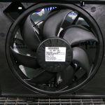 Ventilator Radiator FORD FIESTA, 1.6 TDCI